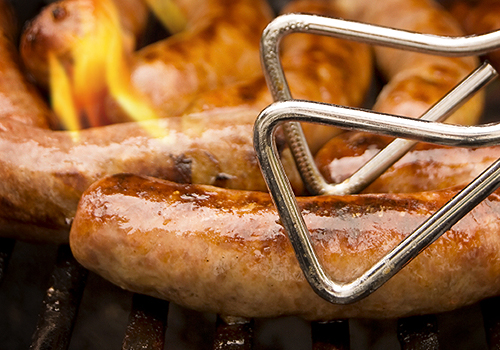 Flame-Grilled Sausage